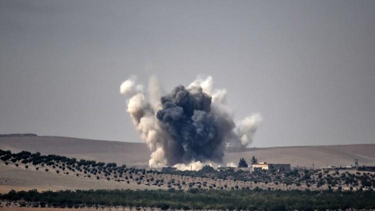 مقتل 20 مدنيا بغارة للتحالف في ريف حلب الشرقي
