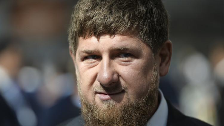 قادروف يحتفل بعيد ميلاده الـ 40