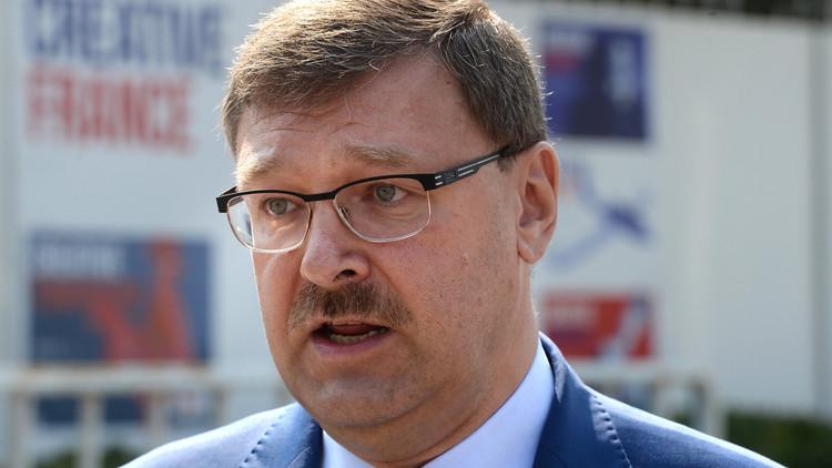 كوساتشيوف: سننسحب من سوريا بعد بسط القانون فيها