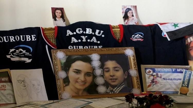 قذيفة طائشة تنهي حياة بطلة سورية