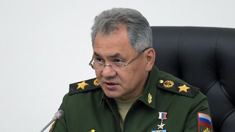 شويغو: الأسلحة الروسية أثبتت فعاليتها في سوريا