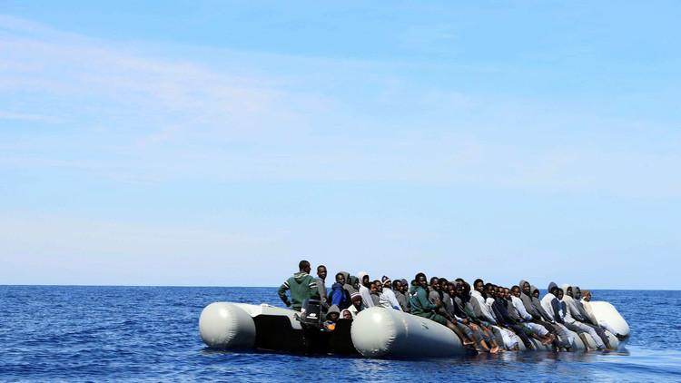 إنقاذ 11 ألف مهاجر في مياه المتوسط خلال يومين