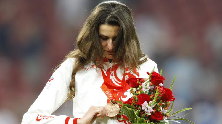تجريد بطلة روسية من ميدالية أولمبياد بكين 2008