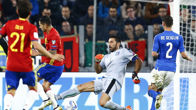 قمة إيطاليا وإسبانيا تنتهي بتعادل عادل