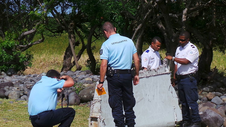 العثورعلى قطعة من حطام بوينغ الماليزية المفقودة في موريشيوس