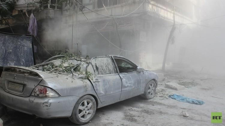 حلب: مقتل عائلة في قصف للمسلحين والجيش يتقدم في الأحياء الشرقية للمدينة
