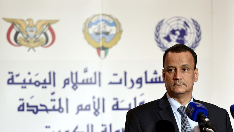 ولد الشيخ: من المتوقع خلال أسبوعين طرح الورقة الحقيقية لخطة أممية متكاملة بشأن اليمن