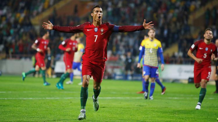 رونالدو يقود البرتغال إلى فوز عريض في تصفيات مونديال 2018