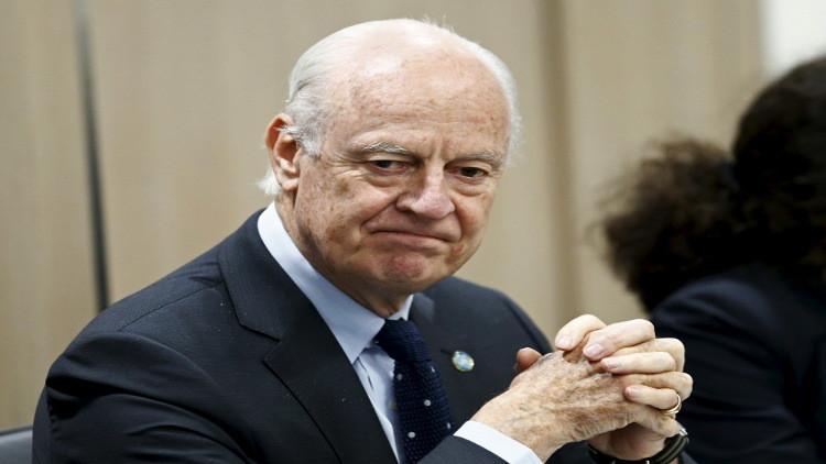 المعارضة السورية تعلن رفضها لمبادرة دي ميستورا وتطالب بإقالته