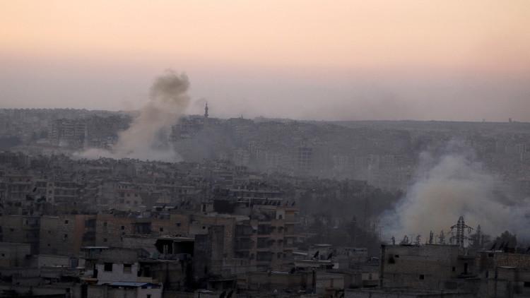 قتلى وجرحى جراء سقوط صواريخ أطلقها مسلحون شمال حلب