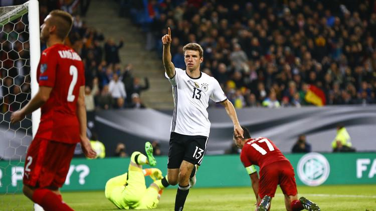 ألمانيا تهزم التشيك بثلاثية في تصفيات مونديال 2018