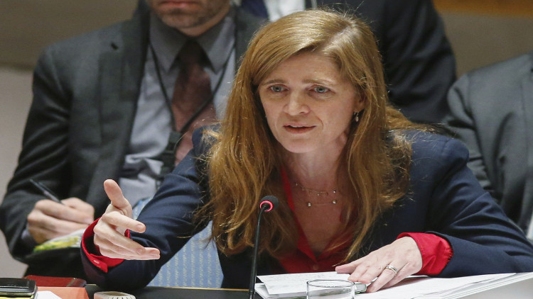 سامانثا باور تتغيب عن جلسة مجلس الأمن حول سوريا