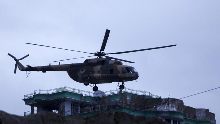 مقتل 7 أشخاص جراء تحطم مروحية عسكرية شمال أفغانستان وطالبان تتبنى