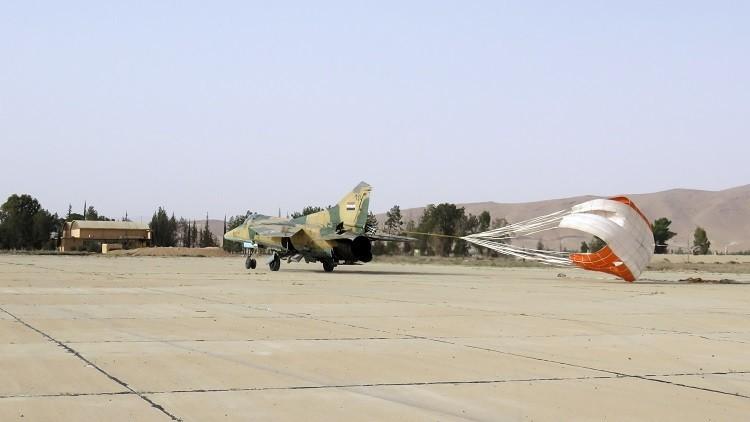 لافروف: التفكير باستهداف المطارات العسكرية السورية