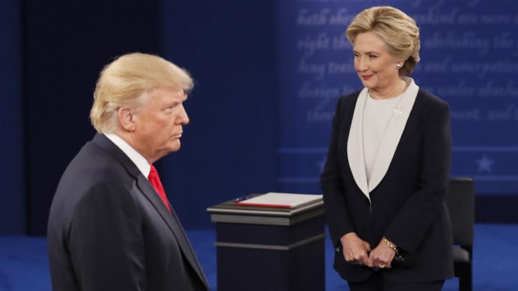 كلينتون تفوز في المناظرة الثانية مع ترامب بفضل النساء