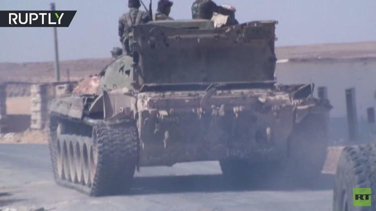 شاهد بالفيديو.. الجيش السوري يتقدم في ريف حماة