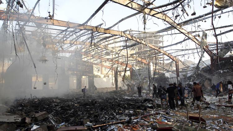 بي بي سي: الرياض أقرت ضمنيا بقصف مجلس العزاء في صنعاء