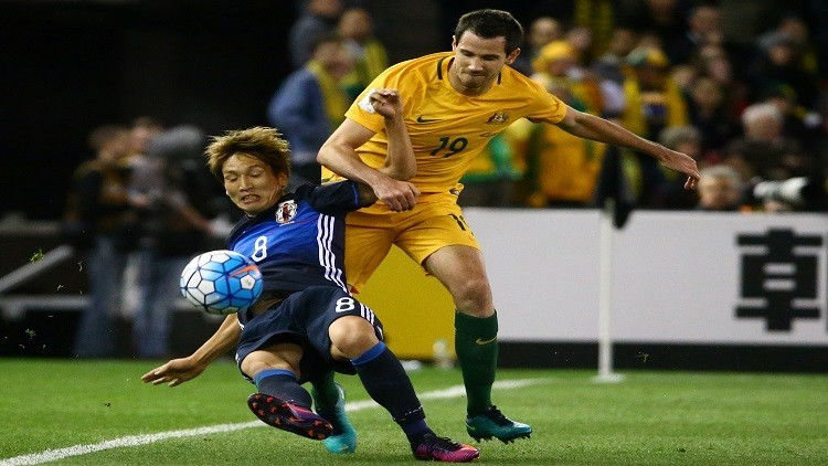 الساموراي الياباني يفرض التعادل على الكنغر الأسترالي