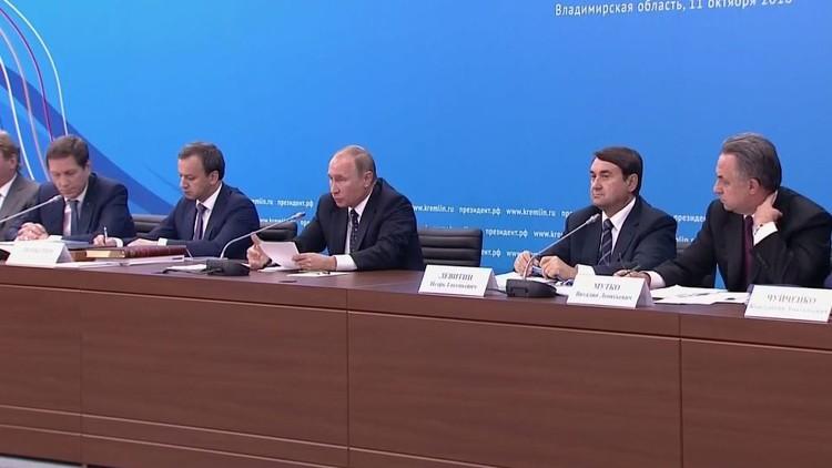 بوتين: روسيا مستعدة لإجراء تعديلات كبيرة لضمان الاستقلال المطلق لهياكل مكافحة المنشطات