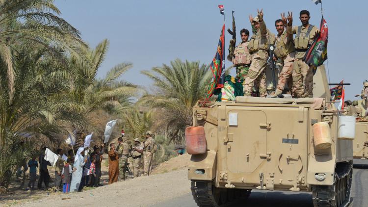 القوات العراقية تستعيد جزيرة هيت
