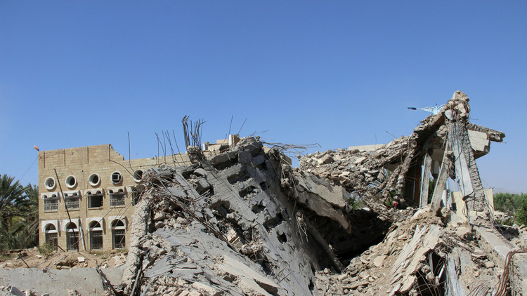 مقتل 10 أشخاص وإصابة 7 بغارات جديدة للتحالف على اليمن