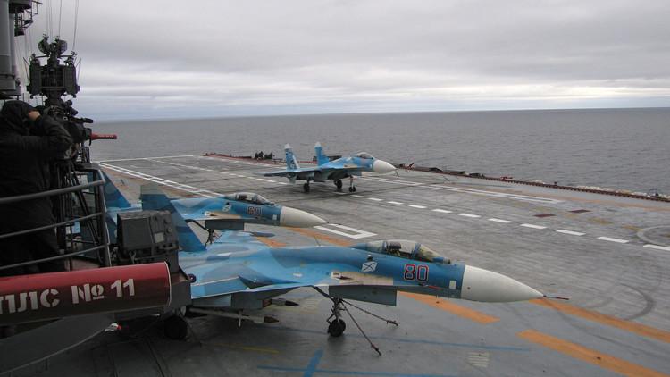 موسكو ترسل حاملة طائرات إلى سواحل سوريا ومصر