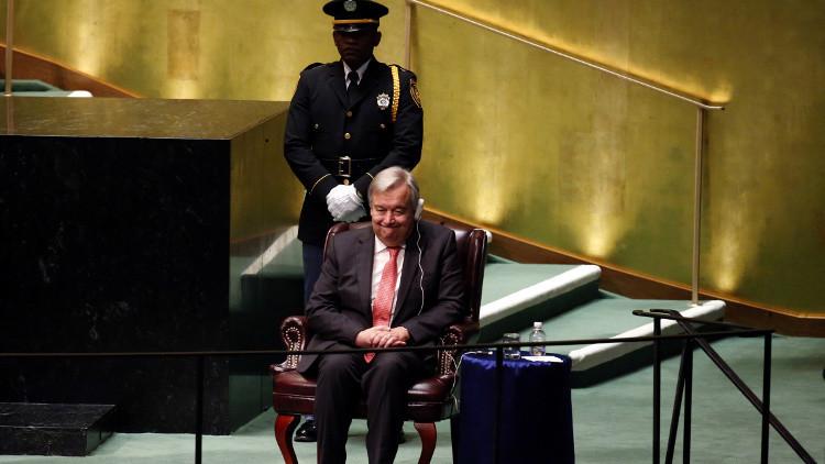 تعيين أنطونيو غوتيريس أمينا عاما للأمم المتحدة