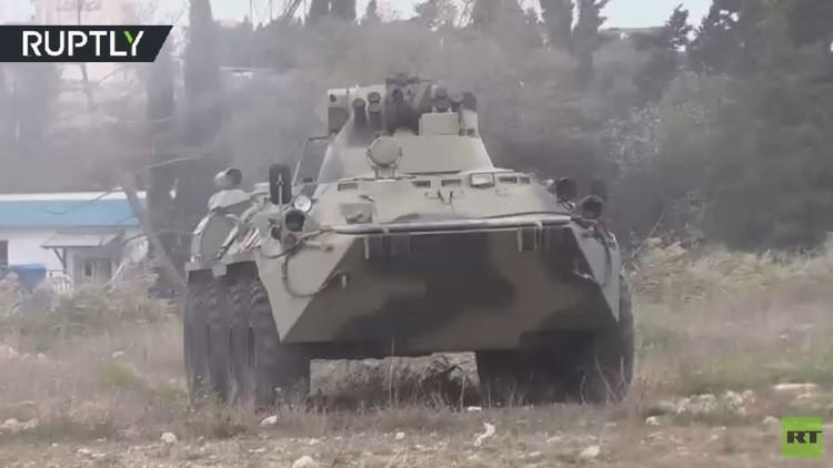 تدريبات عسكرية روسية استعدادا للانتشار في سوريا