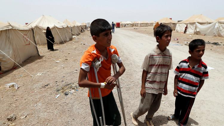 مقتل عشرات الأطفال أثناء فرارهم من داعش بالعراق