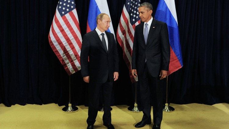 أوباما يخطئ في تعريف منصب بوتين السابق!