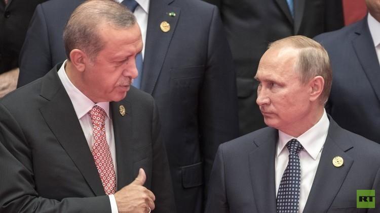 بوتين وأردوغان يبحثان تزويد أنقرة بصواريخ روسية