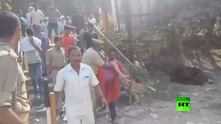 مصرع 24 شخصا بحادث تدافع في الهند