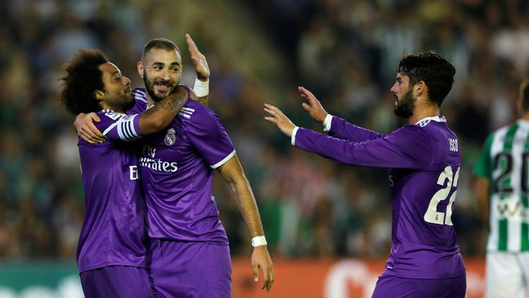 ريال مدريد يقسو على ريال بيتيس في الليغا