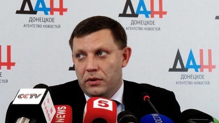 زاخارتشينكو: تصريح بوروشينكو يلغي اتفاقات مينسك