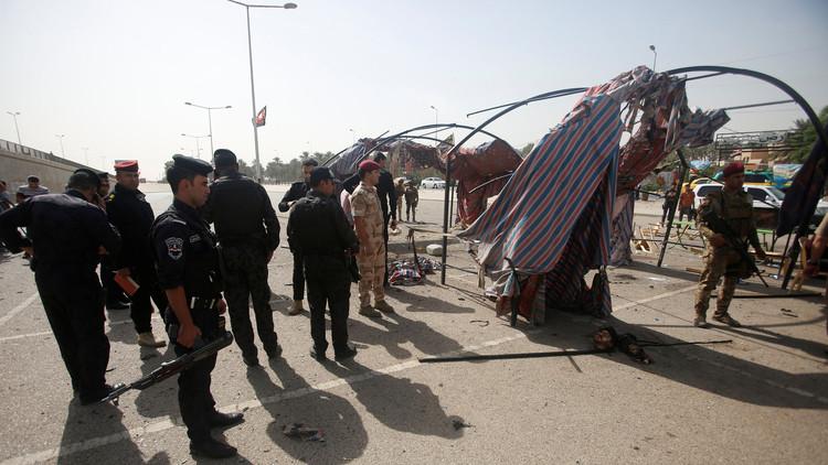 قتيلان وجرحى بتفجير انتحاري وسط بغداد