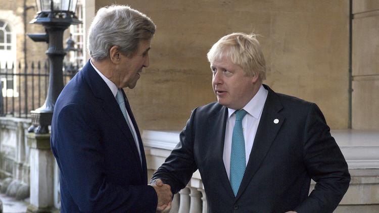 لندن وواشنطن تدرسان فرض عقوبات على دمشق وموسكو