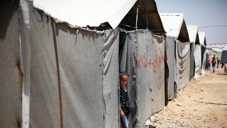 3 قتلى بتفجير انتحاري في مخيم للاجئين عند الحدود السورية الأردنية