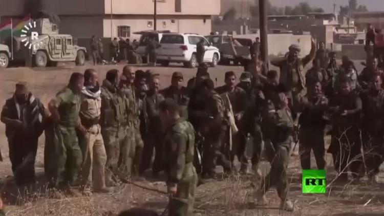 البيشمركة ودبكة الانتصار في معارك الموصل