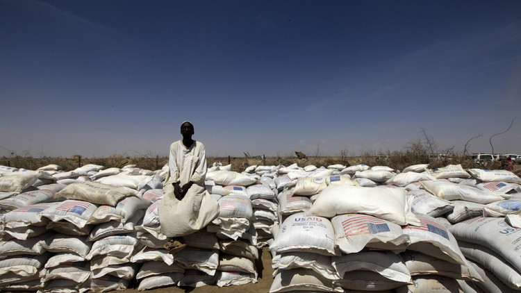 50 ألف طن مساعدات أمريكية للاجئين في السودان