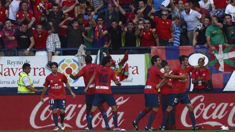 أوساسونا يحقق باكورة انتصاراته في الليغا الإسبانية