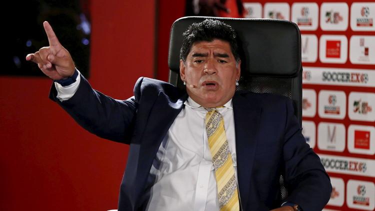 مارادونا يصر على براءته في قضية التهرب الضريبي