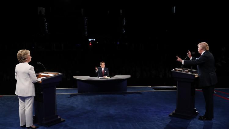 روسيا ورئيسها كانا حاضرين بقوة في مناظرة كلينتون-ترامب الأخيرة