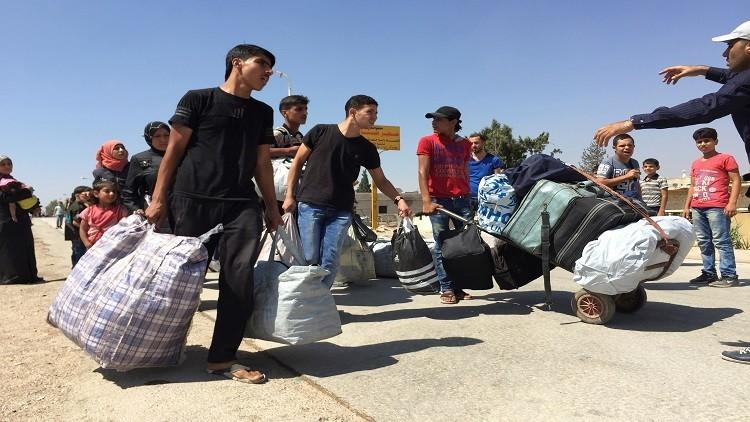 انتهاء عملية خروج المسلحين من معضمية الشام