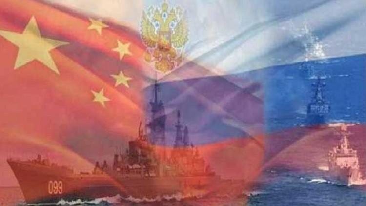 مناورات روسية – صينية دورية