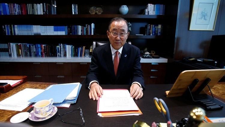 توقعات بترشح بان كي مون لرئاسة كوريا الجنوبية