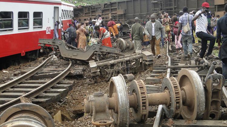 ارتفاع حصيلة حادث القطار في الكاميرون إلى أكثر من 60 قتيلا