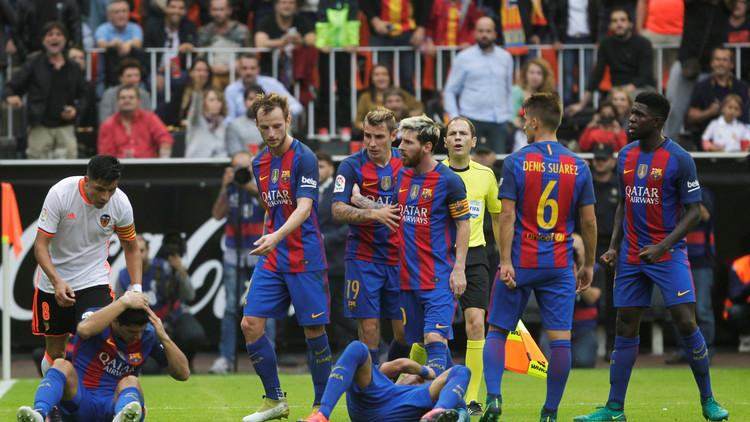 برشلونة يفلت من بين مخالب الخفافيش في الوقت القاتل