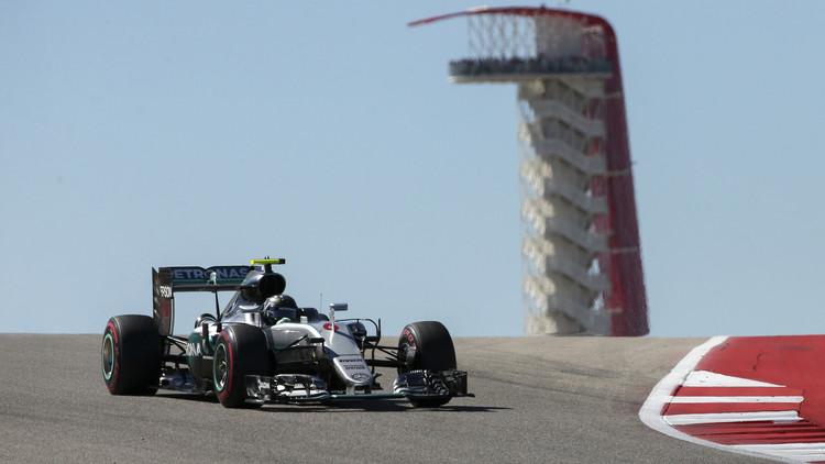 مرسيدس يهيمن على التجارب الرسمية لجائزة أمريكا للفورمولا1