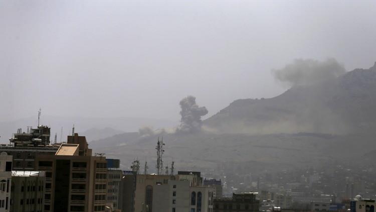 التحالف يستأنف غاراته في اليمن بعد انتهاء الهدنة
