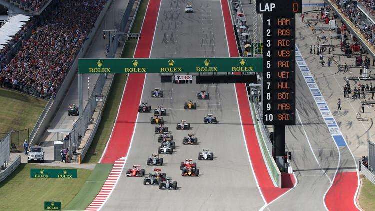 هاميلتون بطلا لسباق أمريكا للفورمولا-1
